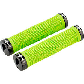 Chromag Squarewave Grips tight green